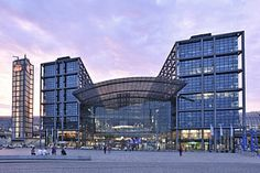 Photograph - Main Railway Station Berlin Germany by Marek Stepan
