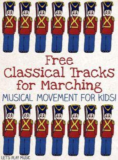 Classical music for marching in #musiced vía @letsplay_music // Música para marcha y movimiento en #edmusical