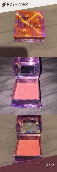 Benefit blush Bella Bamba Brightening.. sculpting and defining blush Makeup Blush