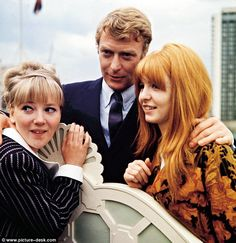 Sixties | Julia Foster, Michael Caine and Jane Asher, stars of Alfie, 1966
