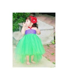 Little Mermaid Tutu InspiredInfant by totsboutique on Etsy, $40.00