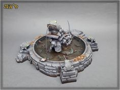 """""""MORDHEIM TOAD FOUNTAIN"""" SPECIAL PROJECT 