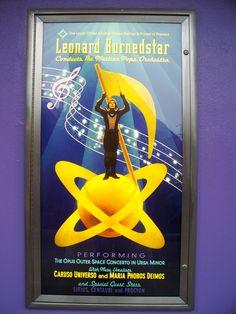 Leonard Burnedstar Conducts the Martian Pops Orchestra - Tomorrowland poster