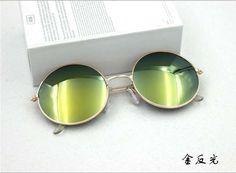 229bc7f3a20b1 Hot Vintage Round lens Sunglasses Men women Polarized Gafas Oculos Retro  Coating Sun Glasses Round
