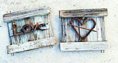 Welded Love, Bicycle Chain Heart