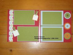 8X8 scrapbooking class by kbernoe - Cards and Paper Crafts at Splitcoaststampers