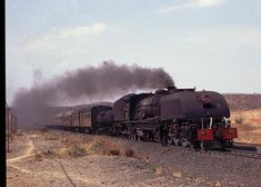 Zimbabwe - Last Of The Garrets South African Railways, Old Steam Train, Railroad Photography, Steam Engine, Steam Locomotive, Zimbabwe, Diesel Engine, Africa Travel, Travel Posters