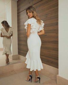 Lovely Dresses, Simple Dresses, Short Dresses, Prom Dresses, Summer Dresses, Formal Dresses, Lace Dress, Dress Up, White Dress