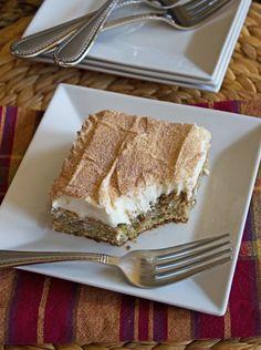 Cinnamon Zucchini Banana Cake