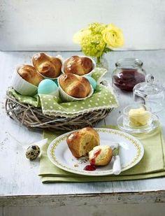 Brioche aus der Muffinform Rezept