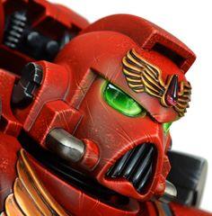 Helm Helm Space marine-Warhammer 40000  Replikat von CrealinkArts