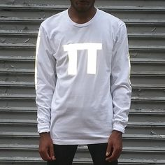 "APP-004 ""PI"" long sleeve tee with black reflective by Heisel - HEISEL"