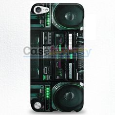 Boombox Ghetto Blaster Funny iPod Touch 5 Case | casefantasy
