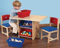 This great wooden children's table and chair set is ideal for both boys and girls, it also has lots of storage to. The Kidkraft star table and chair set will amaze your child with the features and functionality on this quality design. Wooden Childrens Table, Childrens Desk And Chair, Desk And Chair Set, Kids Table And Chairs, Kid Table, Desk Chairs, Home Office, Cool Office Desk, Kids Furniture Sets