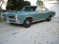 1966 Pontiac GTO. Another example of a sleeper street machine.
