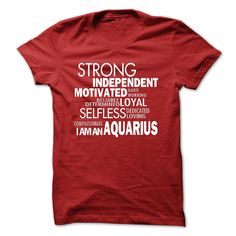 strong aquarius T-Shirts, Hoodies. ADD TO CART ==► https://www.sunfrog.com/LifeStyle/strong--aquarius.html?id=41382