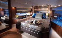 Luxury yacht interior!