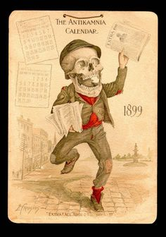 Antikamnia chemical company calendar 1899 ***