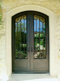 Bella Villa 68-5 - Wrought Iron Doors, Windows, Gates, & Railings from Cantera Doors