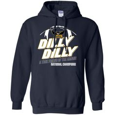 NCAA FCS KENNESAW STATE OWLS dilly dilly a true friend the crown national champions t shirt hoodie sweater
