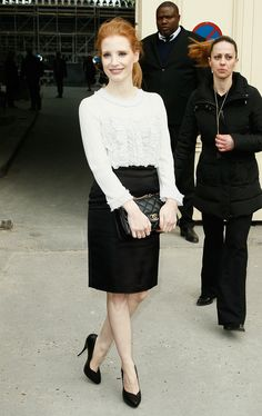 We Crown Jessica Chastain PFW's Style Star — See 9 of Her Standout Looks!