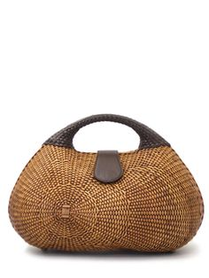Japanese Bag and Wallet store DANJO | Rakuten Global Market: Ka bag basket, rattan hand natural Wicker ladies f-6062