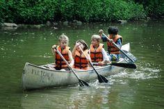 Kids on the lake.......