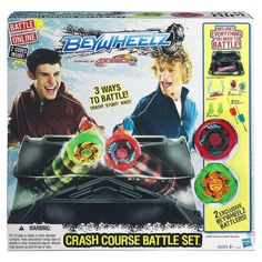 2. Beyblade Beywheelz Crash Course Battle Set