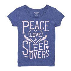 Kid Girls' Text Sleep Tee