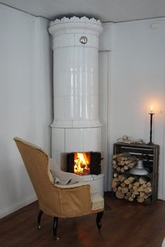 Could be a good way to disguise a woodstove when you can't just take it out....