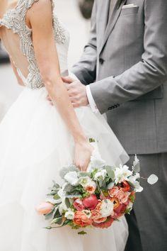 Romantic bridal bouquet | Emily Wren Photography |   www.inspirebridalboutique.com  Inspire Style Boutique  Event Perfection