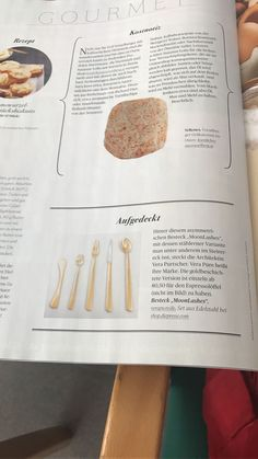 Throwback to our gold-plated MoonLashes cutlery is Dir Presse lifestyle issue ✨