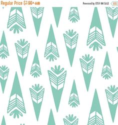 15% OFF SALE - Bengal Collection by Hawthorne Threads - Arrowheads in Succulent {PRE-Order} Fabric | Quilting, Sewing, Home…