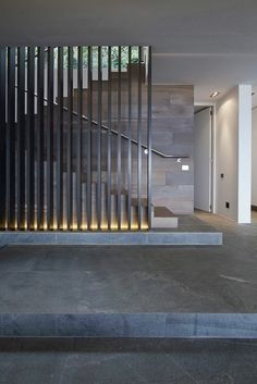 Harker Street House by Greg Wright Architects Stairs Modern Stair Railing, Modern Stairs, Modern Room, Modern Decor, Home Stairs Design, Interior Stairs, Interior Architecture, House Design, Interior Design