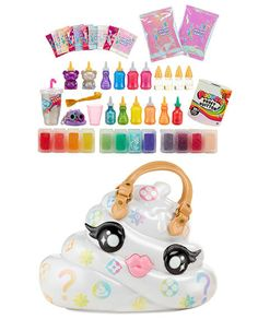 Welcome to the official Poopsie Slime Surprise website! slime fashions and your favorite collectible, unicorn poop-themed characters. Take quizzes, watch videos, find Poopsie slime packs, and more! Lol Dolls, Barbie Dolls, Toys For Girls, Kids Toys, Girl Toys Age 5, Unicorn Surprise, Jojo Siwa Birthday, Slime Kit, Kids Makeup