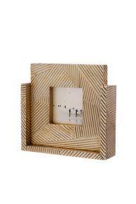 Revelry Square Frame #kellywearstler #home #decor #frame #bronze