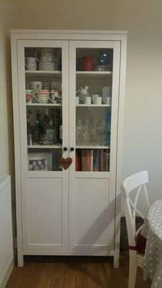 Bookcase pretty things stored in ikea hemnes glass door cabinet hemnes glass door cabinet casalovings cathkidston denby lecreuset planetlyrics Choice Image