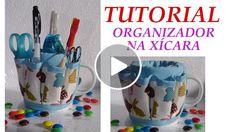 Tutorial Organizador na Caneca  MOLDE https://www.facebook.com/groups/30987...