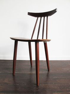 Poul Volther, #370 Teak Dining Chair for Rojle, c1961.