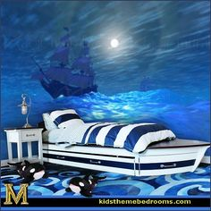 Lighthouse Living Room Decor | Decorating theme bedrooms - Maries Manor: nautical bedroom ideas ...