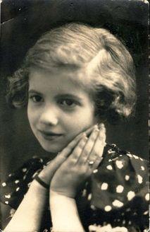 Riga, Latvia, 1941, Ester Gordon, perished in the Holocaust.