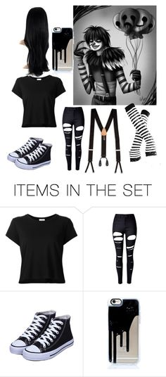 """""""Laughing jack cosplay"""" by gemma123678 ❤ liked on Polyvore featuring art"""
