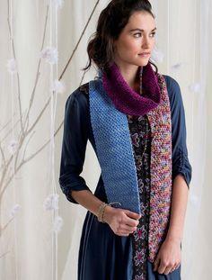 Linen Stitch Scarf by Marly Bird