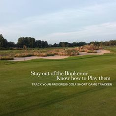 Practice with the Golf Short Game Tracker to stay out of the Bunker or know how to play out of them! #Golf #golflife #the18thgreen #thegolfjournal #thegolfstagram  #playbettergolf #photooftheday