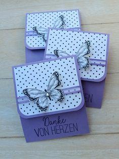 "Dankeschön-Tee ""Schmetterlingsvielfalt"" – Mein Kreativlabor Paper Crafts - The Ultimate Craft Ideas Ideas Scrapbook, Scrapbook Organization, Scrapbook Paper, Diy Gifts Paper, Craft Gifts, Itunes Gift Cards, Butterfly Cards, Card Sketches, Stamping Up"