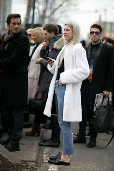 Pin for Later: Retour Sur les Meilleurs Looks Street Style de la Fashion Week de New York Jour 7 Sarah Harris.