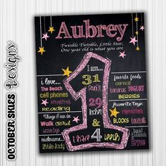 Twinkle Twinkle Little Star Birthday by OctoberSkiesDesigns