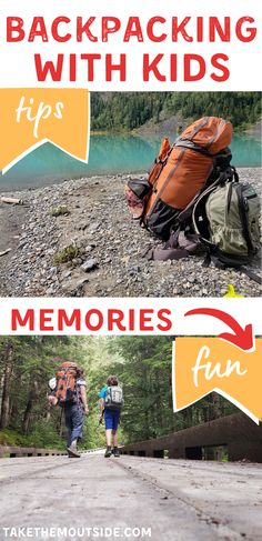This post is full of tips on how to prepare for a successful family backpacking trip. Get tips on kids hiking gear, snacks for the trail, and considerations to make before heading out for an overnight hiking trip with toddlers and young children. #hikingwithkids #backpacking