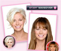 Online Saç Deneme ve Tasarım Programı   Yeni Saç Modelleri - Saç Renkleri - Saç Modası
