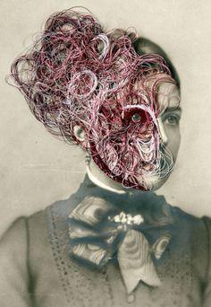 Maurizio Anzeris. Contemporary embroidery.